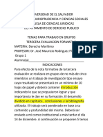 TERCERA EVALUACION FORMATIVA DE DERECHO MARITIMO