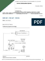 solenoide de la valvula de control de flujo C3.4 minicargador 236B probar fmi06