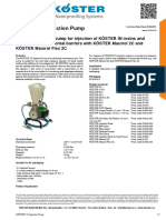 KoSTER 1C Injection Pump