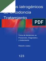 Efectos iatrogénicos del tratamiento de ortodoncia