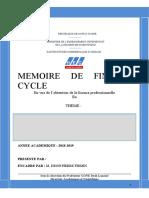 PAGE DE GARDE I