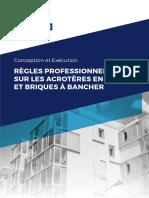 REGLES PROFESSIONNELLES SUR LES ACROTÈRES EN BLOCS ET BRIQUES À BANCHER.pdf