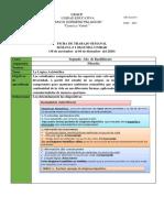 4.- Diciembre 2020 Ficha de Trabajo Segundo de Bachillerato COVID19 2020