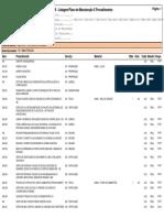Listagem Plano de Manutenção X Procedimentos 02