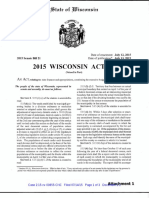 2015 Wisconsin Bill