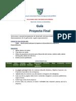 PROYECTO FINAL 1er Cuatrimestre SOLUCIONES WEB
