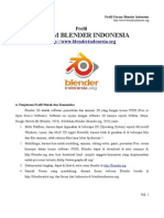 Profil Forum Blender Indonesia