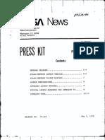 Intelsat IV Press Kit 051875