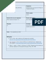 CONTROL DE MULTITUDES, PUESTO DE REUNION Y EMBARCO