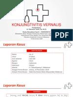 KONJUNGTIVITIS VERNALIS [LAPSUS & REFERAT]
