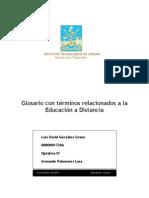 Luis David González Grano - Glosario de Educación a Distancia