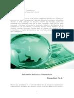 DERECHO DE LA COMPETENCIA EN EL PERU (APORTE INFORMATIVO))