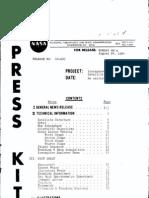 Ionosphere Explorer (Explorer XX) Press Kit