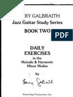 Barry Galbraith Melodic and Harmonic Minor