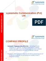 Ppt-company Profile Sys