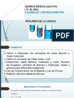 UNIDAD NO.4  Calculo de Masas, Leyes Quimicas y Estequiometria  semestre 2020-1.pptx