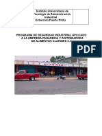 PROGRAMA DE SEGURIDAD INDUSTRIAL APLICADO