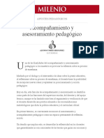 ACOMPAÑAMIENTO Y ASESORAMIENTO PEDAGÓGICO