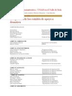 PLAN DE RECUPERACION DE DESASTRES - UNAHVS