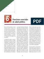 FUNCIONES ESENCIALES DE LA SALUD PUBLICA OPS-OMS