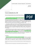Caso Graves Industries Inc ESPAÑOL