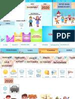 Calendarul naturii - format digital