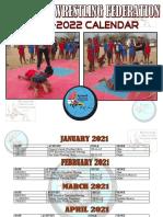 2021- 2022 BOTSWANA WRESTLING FEDERATION CALENDAR OF EVENTS
