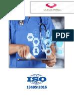 iso13485 version 2016  équipe contrôle Qualité Medica Méditerranée