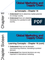 Ch 6 Global Marketing and Supply Chain