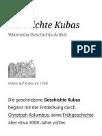 Geschichte Kubas – Wikipedia