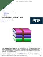Tutorial_ cómo Descomprimir RAR en Linux y comprimir.pdf
