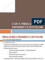 Cap 5 Pregatirea primirii clientilor
