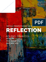 Reflection in Arts 1(B2)