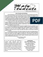 WMLSCA Newsletter for February 2011