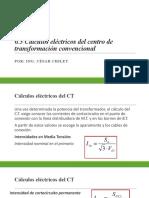 6.3 CALCULOS C.T.