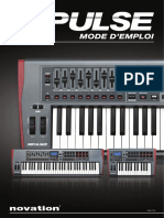 Mode d'emploi Novation Impulse 61