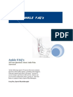 Ankle FAQ's