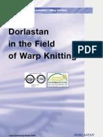 dorlastan in warp knitting