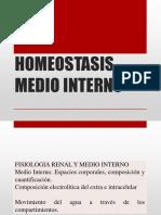 4. HOMEOSTASIS y MEDIO INTERNO