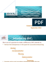 BVC Corporate Presentation_Sep 2010 V2.0