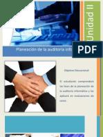 Unidad II Planeación de la Auditoría Informática