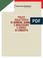 policy-sulla-tutela-di-bambine-bambini-e-adolescenti-e-codice-di-condotta