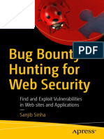 Bug Bounty Hunting For Web Security Find And Exploit Vulnerabilities In Web Sites And Applications by Sanjib Sinha (z-lib.org).pdf