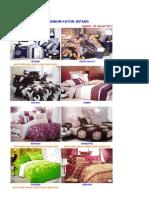 Katalog Sprei Premium