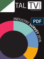 Digital TV Industry Survey - 2016