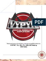 Peavey VYPYR Owners Manual Spanish