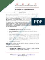PRINCIPIOS BASICOS DE GUERRA ESPIRITUAL