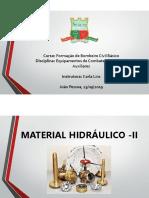 Materiais hidráulicos 2
