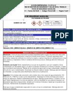 Ficha De Seguridad Gasolina