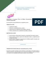 Politicas Socioculturales, Sociop. Te. y Des. CLASE 1